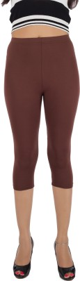 Legrisa Fashion Women's Brown Capri