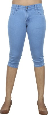 Sequeira Women's Light Blue Capri