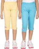 Ocean Race Capri For Girls Solid Cotton ...