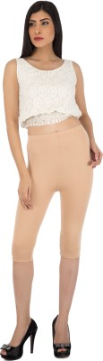 Legrisa Fashion Women's Beige Capri