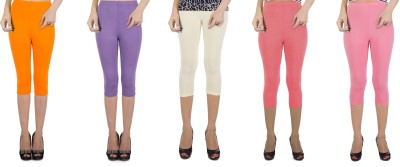 Legrisa Fashion Women's Multicolor Capri