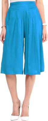 Uptownie Lite Cool Lots Culottes Women's Light Blue Capri