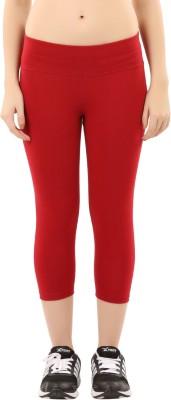 Lavos Women's Red Capri