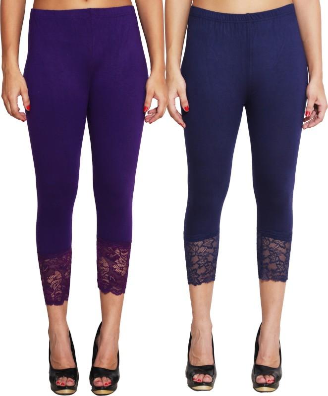 LGC Women's Blue, Purple Capri