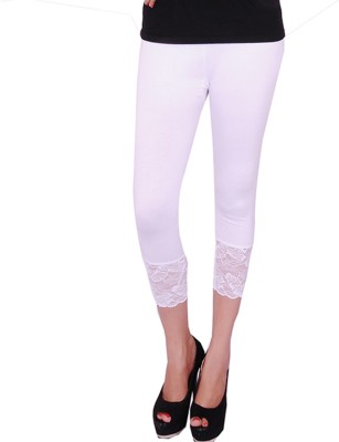 UrSense Fashion Women's White Capri