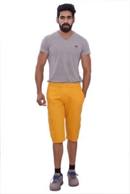 MountainColours Men's Yellow Capri