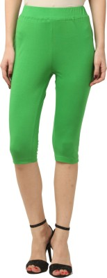 FashionExpo Women's Green Capri