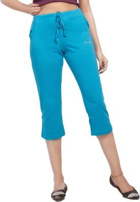 Comix Women's Light Blue Capri