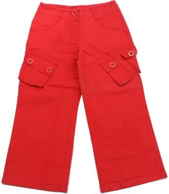 Romano Girl's Red Capri