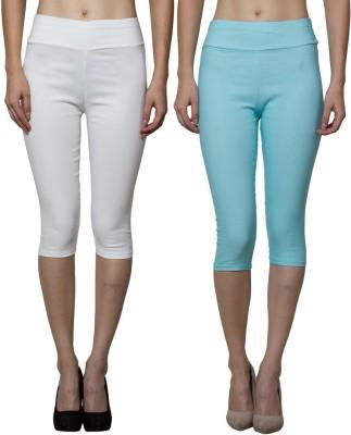 Both11 Women's Blue, Beige Capri