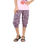 Meril Capri For Girls Printed Cotton (Mu...
