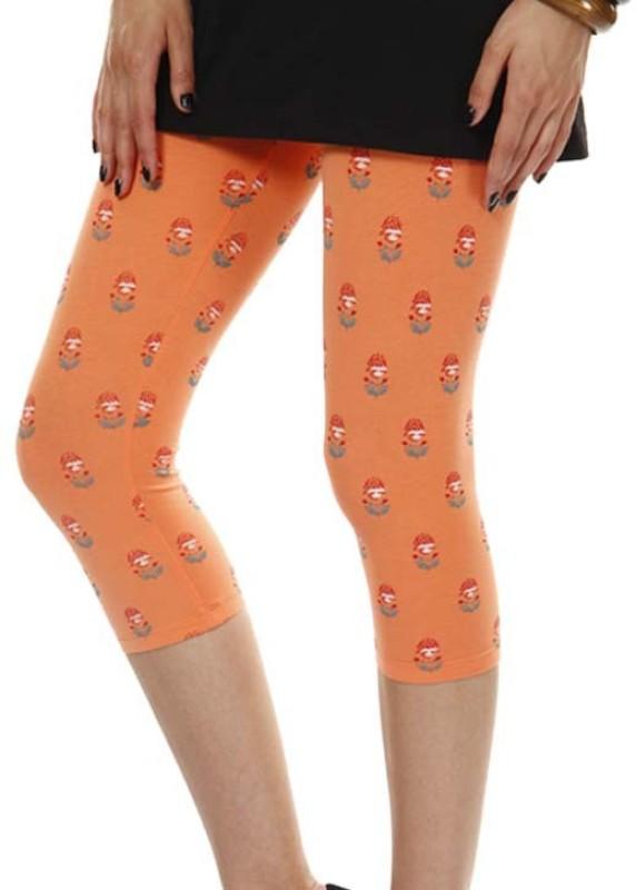 Femmora Chic Women's Orange Capri