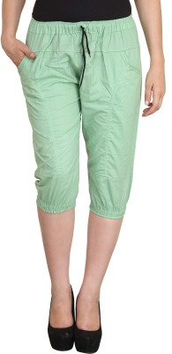 Vestire Women's Light Green Capri