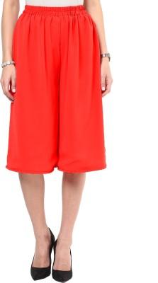 Uptownie Lite Too Cool Culotte Women's Red Capri