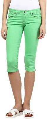 Upperclass Women's Green Capri