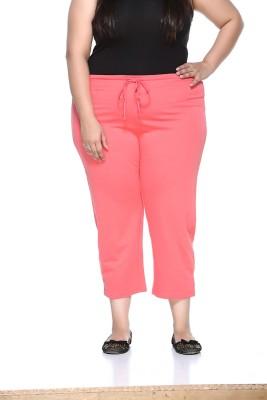 PlusS Women's Orange Capri