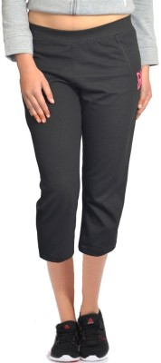 London Eye Women's Black Capri