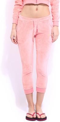 Dressberry Fashion Women's Pink Capri