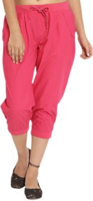 Goodwill Impex Women's Pink Capri