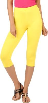Newrie Capri Women's Yellow Capri
