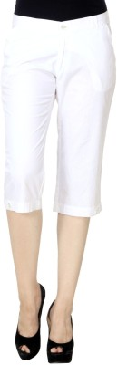 Trends Women's White Capri