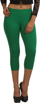 Frenchtrendz Women,s Green Capri