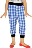 Gkidz Capri For Girls Checkered Cotton (...