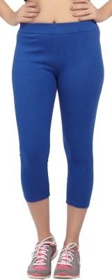 Comix Fashion Women's Blue Capri