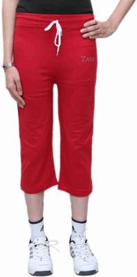 Bfly Womens Red Capri