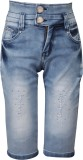 FCK-3 Capri For Girls Solid Denim (Blue ...