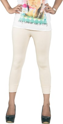 Fizzaro Super Women's Reversible Beige Capri at flipkart