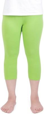 Vami Women's Light Green Capri