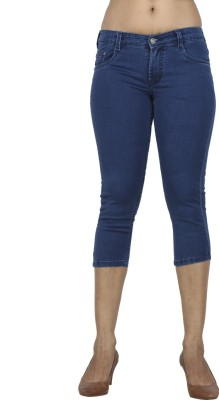 Sequeira Women's Dark Blue Capri