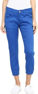 Yepme Women's Blue Capri at flipkart