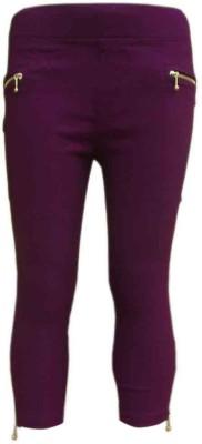 Garlynn Girl's Purple Capri