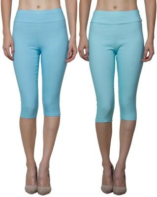Both11 Women's Blue, Blue Capri