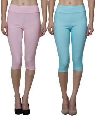 Both11 Women's Blue, Pink Capri