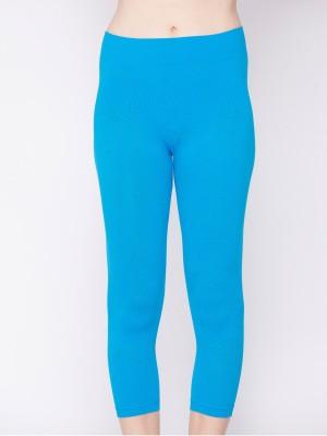 Channel Nine Fashion Women's Light Blue Capri
