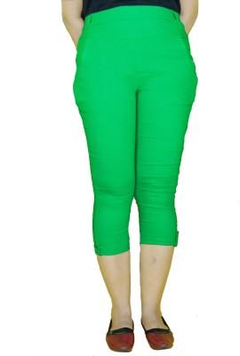 E2G Women's Green Capri