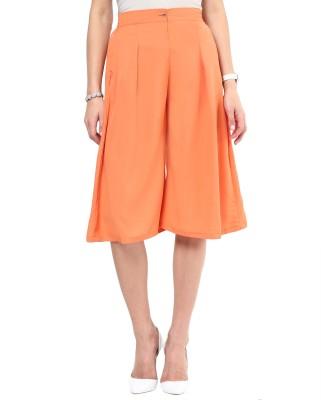 Uptownie Lite Last Call Culottes Women's Orange Capri