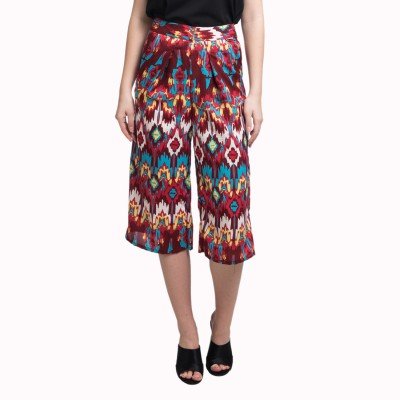 Uptownie Lite A Much-Needed Breather Culottes Women's Maroon Capri