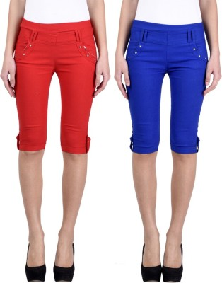 Hardys Women's Multicolor Capri at flipkart