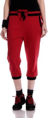 Glasgow Women,s Red Capri
