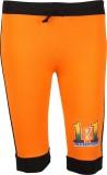 Harsha Capri For Girls Solid Cotton (Ora...