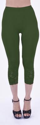 Shyie Lycra Parrot Green Women