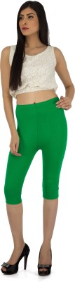 Legrisa Fashion Women's Green Capri