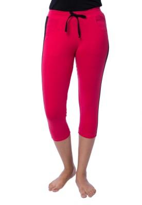 Nite Flite Athletic Pink Women's Pink, Black Capri