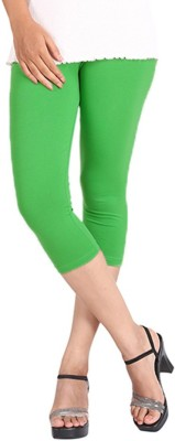 LGRL Women's Green Capri