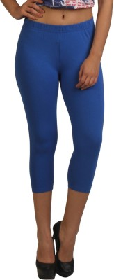 Frenchtrendz Women,s Dark Blue Capri