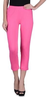 Finesse 3/4th Women's Pink Capri